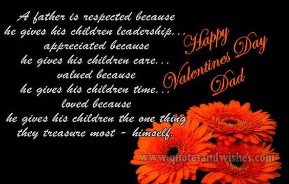 Happy Valentine's Day Dad Pictures, Photos, And Images For