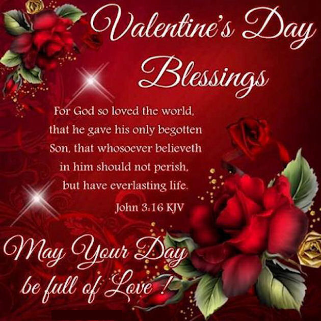 Religious Valentine's Day Blessings Quote Pictures, Photos
