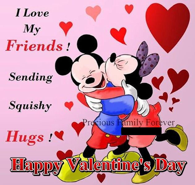 Disney Valentine's Day Quote For Friends Pictures, Photos