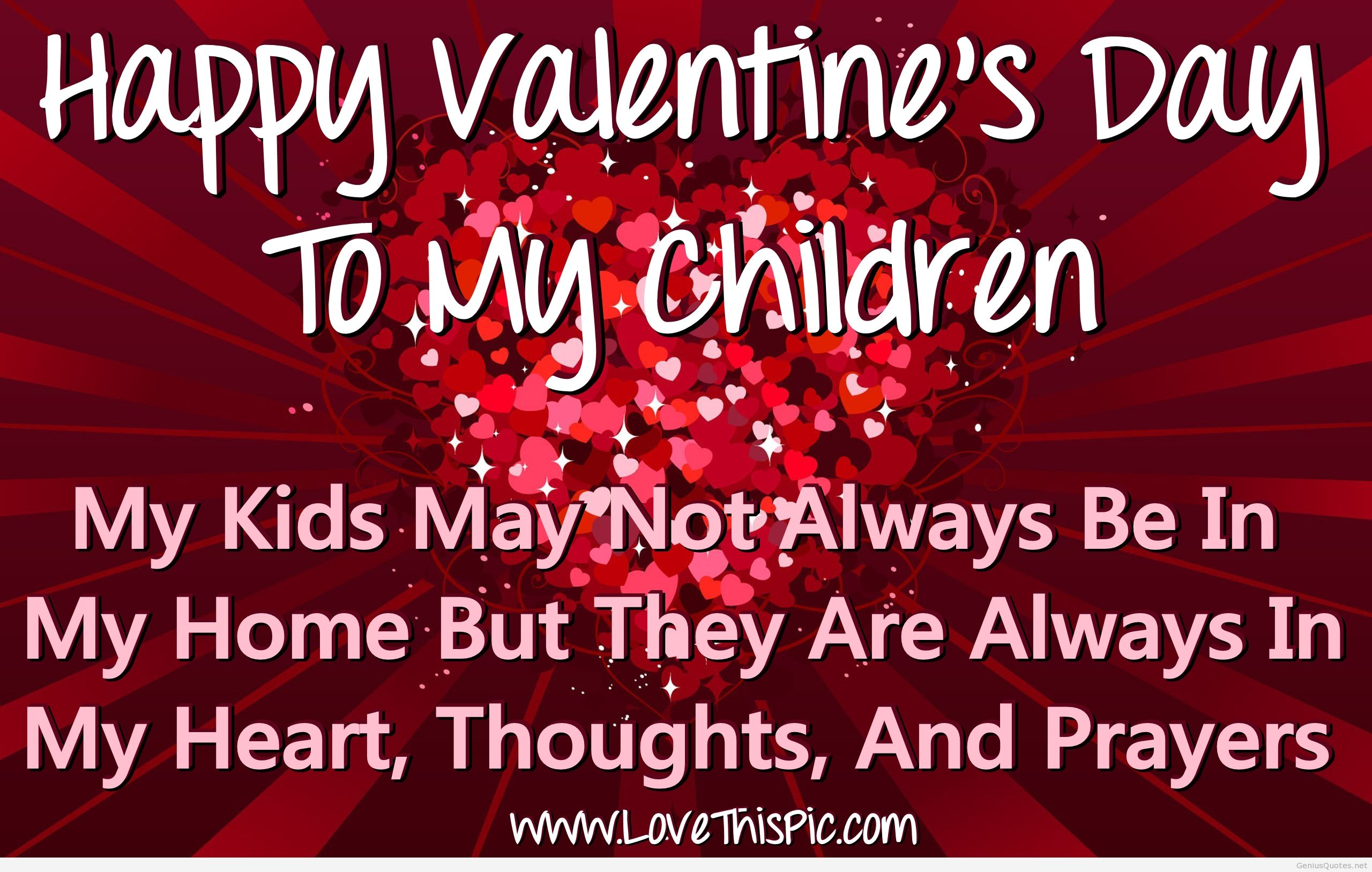 Happy Valentine S Day To My Children Pictures Photos And Images