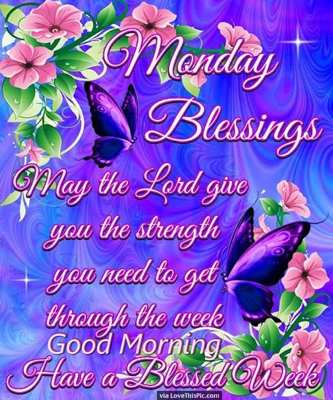 Image of: Printable Religious Good Morning Monday Quote Lovethispic Religious Good Morning Monday Quote Pictures Photos And Images For