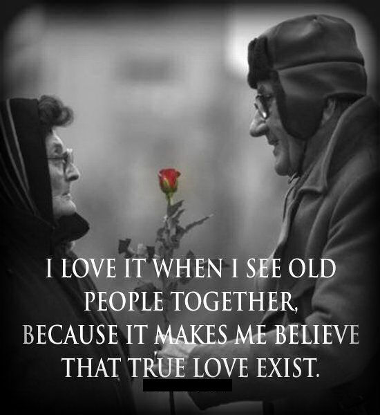 Image of: Black Love Seeing Old People Together It Shows True Love Does Exist Lovethispic Love Seeing Old People Together It Shows True Love Does Exist