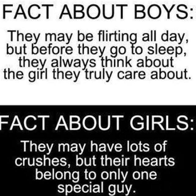 In Love With A Boy Quotes: Fact About Boys And Fact About Girls Pictures, Photos, And