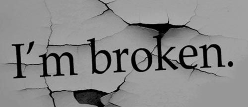 I 39 m broken pictures photos and images for facebook - Y love hurt wallpaper ...