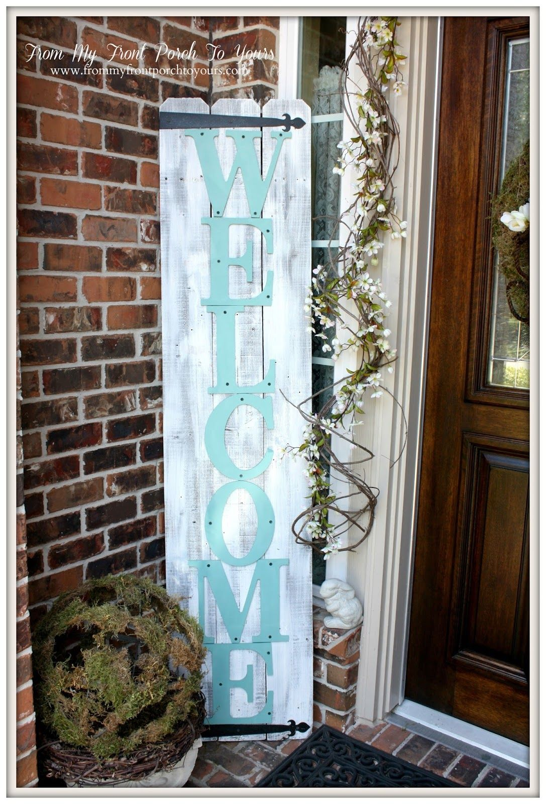 Welcome Sign For The Front Porch Pictures Photos And