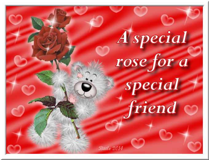 A Special Rose For A Special Friend Pictures, Photos, and