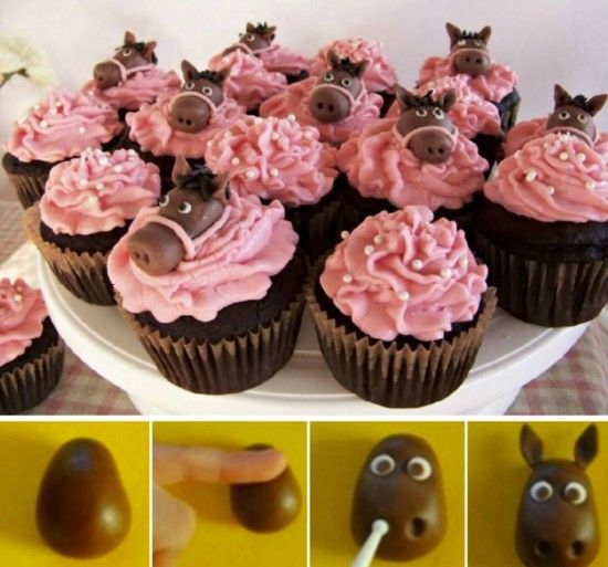 Horse Cupcakes Pictures Photos and Images for Facebook Tumblr