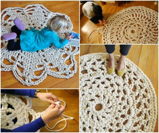 Giant Crochet Doily Rug Pictures Photos And Images For Facebook