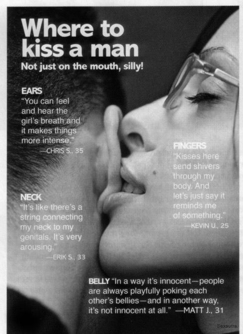 where to kiss a man pictures photos and images for