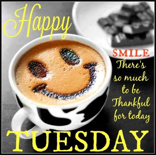 Happy tuesday smile theres so much to be thankful for today pictures