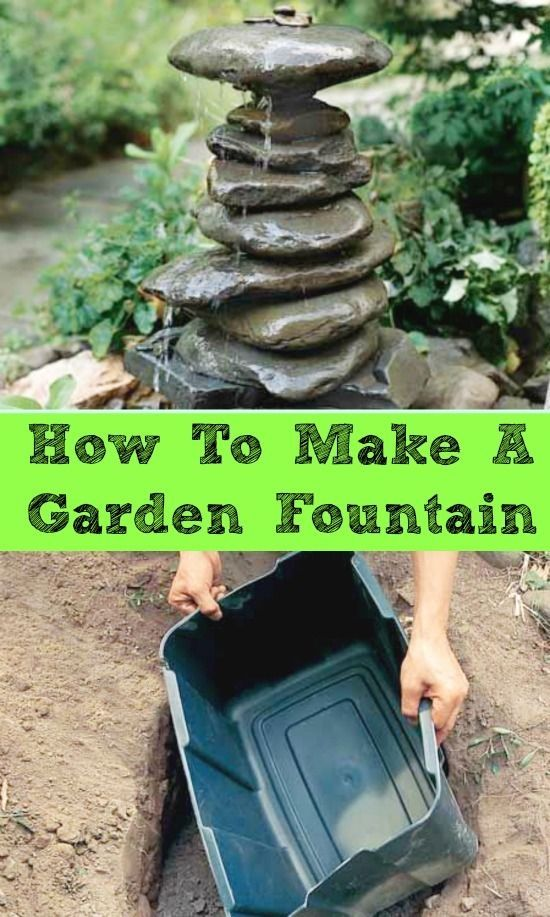 How To Make A Garden Fountain Pictures Photos And Images