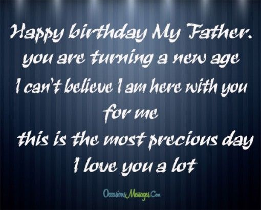 Birthday Wishes For Father Health ~ Dad birthday messages pictures photos and images for facebook tumblr pinterest twitter