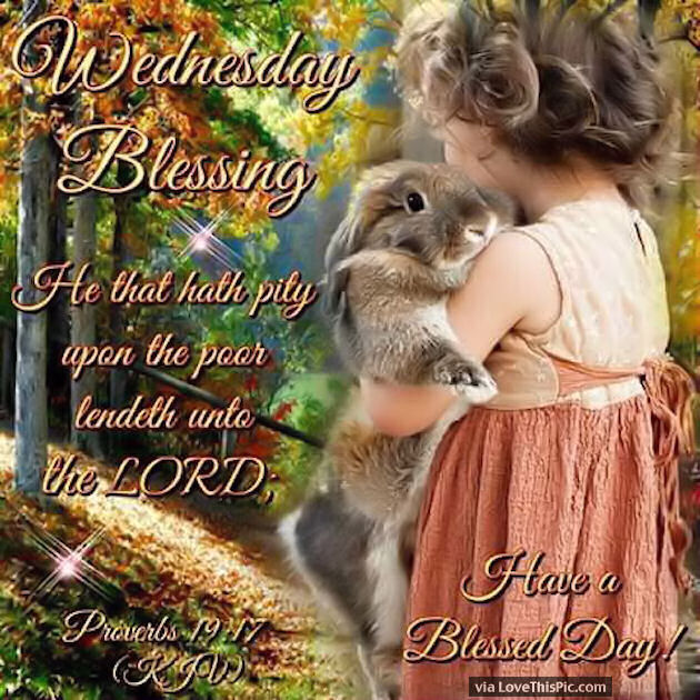 Blessed Day Quotes From The Bible: Wednesday Blessings With Bible Quotes Pictures, Photos