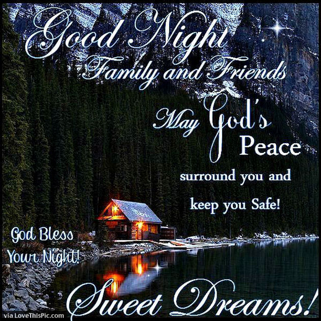 Good Night Family And ...