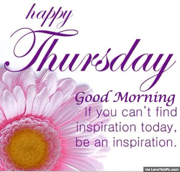 Good Morning Happy Thursday : Happy thursday good morning be an inspiration pictures