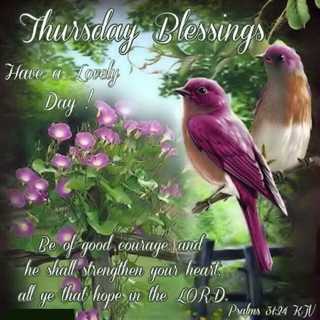 Thursday Blessings Have A Great Day Quote Pictures Photos