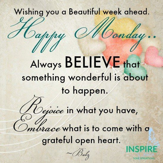 Happy Week Quotes Inspirational: Monday Pictures, Photos, And Images For Facebook, Tumblr