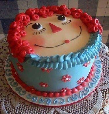 Adorable Raggedy Ann Cake Pictures Photos And Images For
