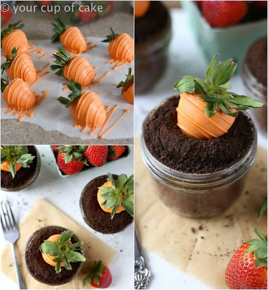 Diy Garden Carrot Easter Cupcakes Pictures Photos And