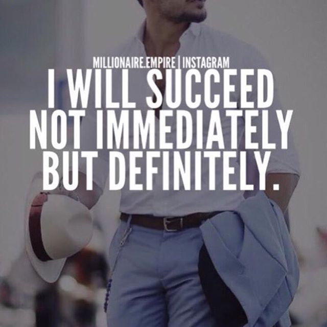 I will succeed quotes