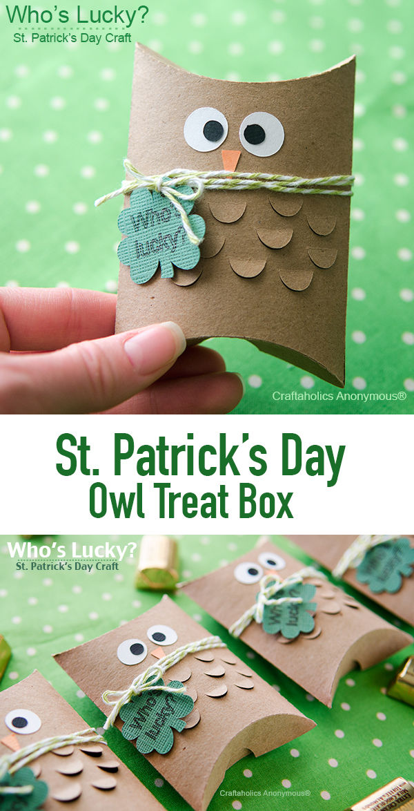 St. Patricks Day Owl Treat Box Pictures, Photos, and ...