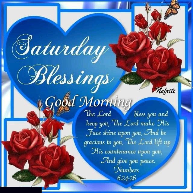 Good Morning Saturday Quotes Saturday Blessings Good Morning Quote With Hearts And Roses  Good Morning Saturday Quotes