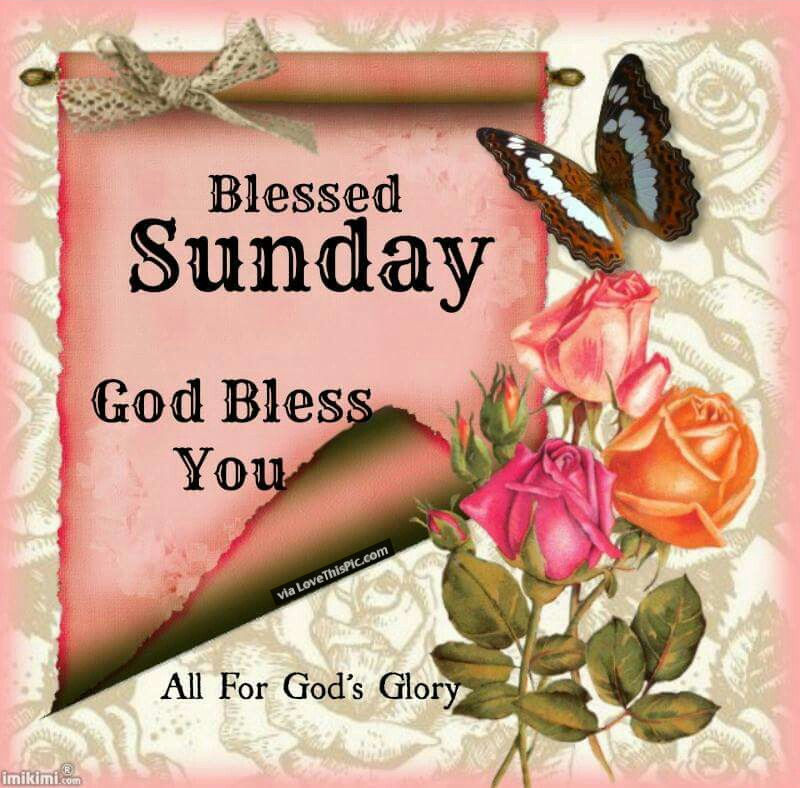 Good Morning Sunday God : Blessed sunday god bless you pictures photos and images