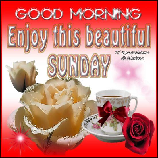 Good Morning Beautiful Sunday : Good morning enjoy this beautiful sunday pictures photos