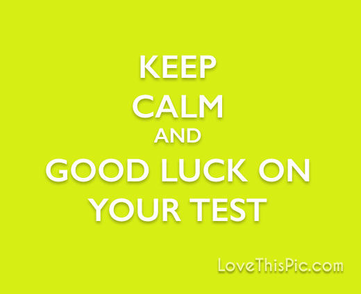 Keep Calm Good Luck On Your Test Pictures, Photos, And