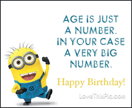 age by birthday Age Is Just A Number Happy Birthday Pictures, Photos, and Images  age by birthday