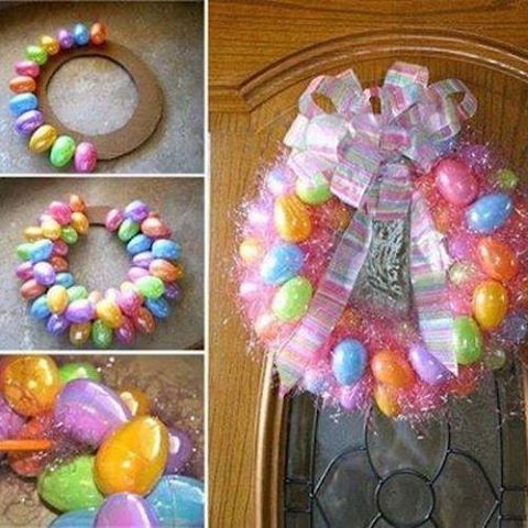 Diy Easter Egg Wreath Tutorial Pictures Photos And Images For Facebook Tumblr Pinterest And