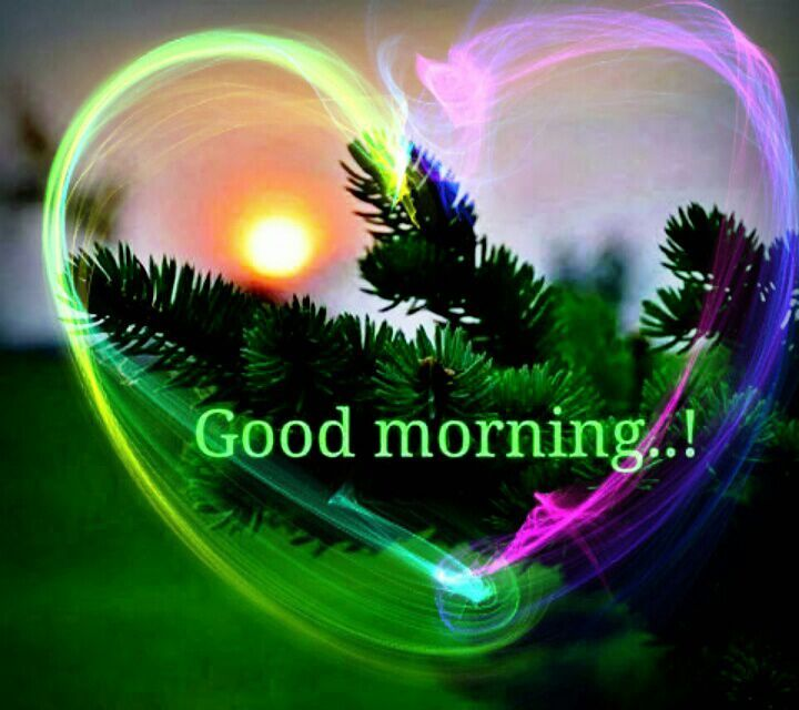 Beautiful Good Morning Heart Pictures, Photos, And Images
