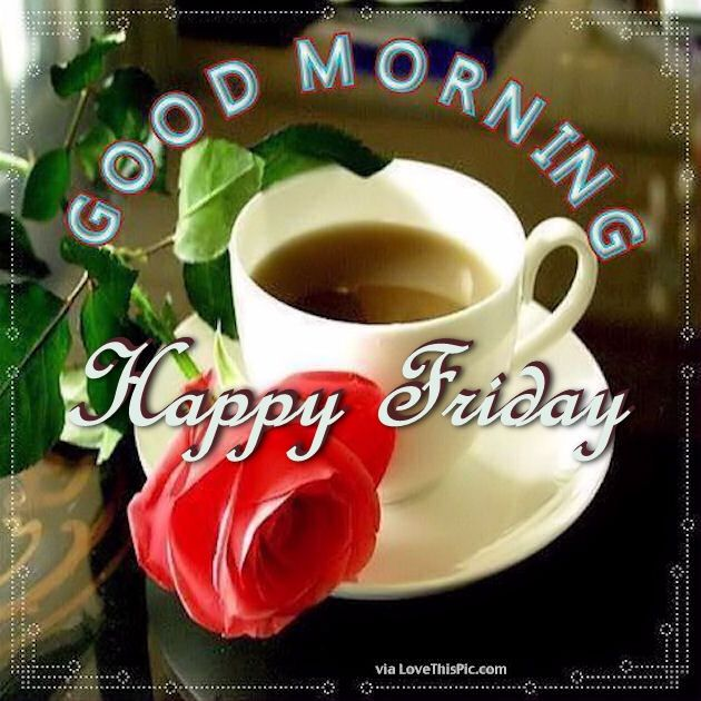 good morning happy friday christmas image quote pictures photos and images for facebook. Black Bedroom Furniture Sets. Home Design Ideas