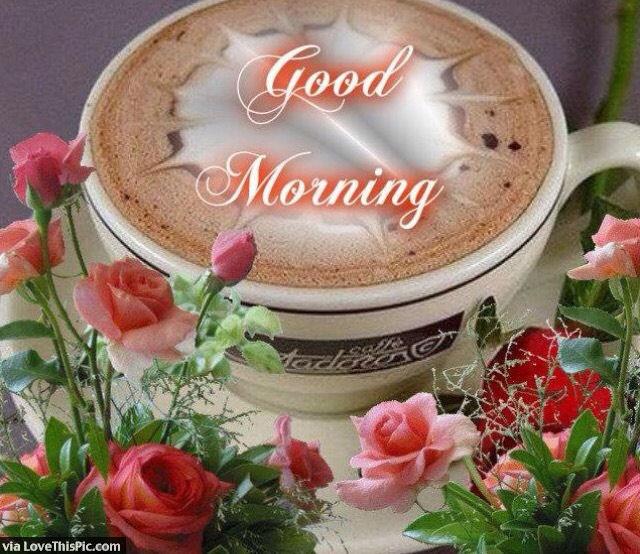 Good Morning Beautiful Coffee Quote