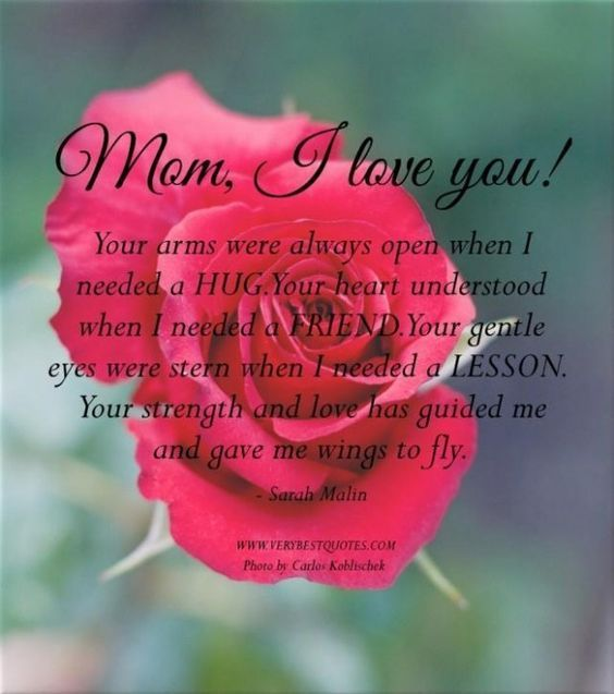 Inspirational Mom Quotes: Mom I Love You Pictures, Photos, And Images For Facebook
