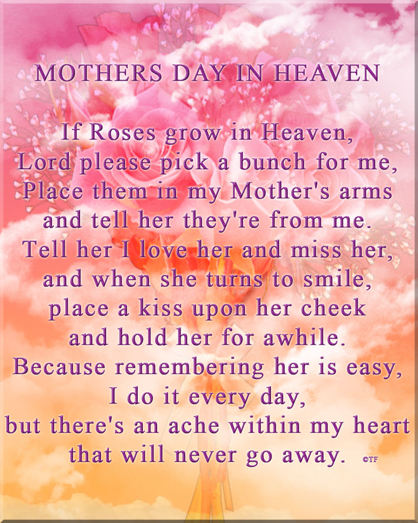 Missing My Mom In Heaven Quotes Mothers Day In Heaven Pictures Photos And Images For Facebook