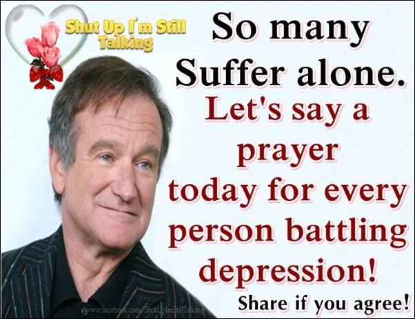 so many suffer alone lets say a prayer for those suffering