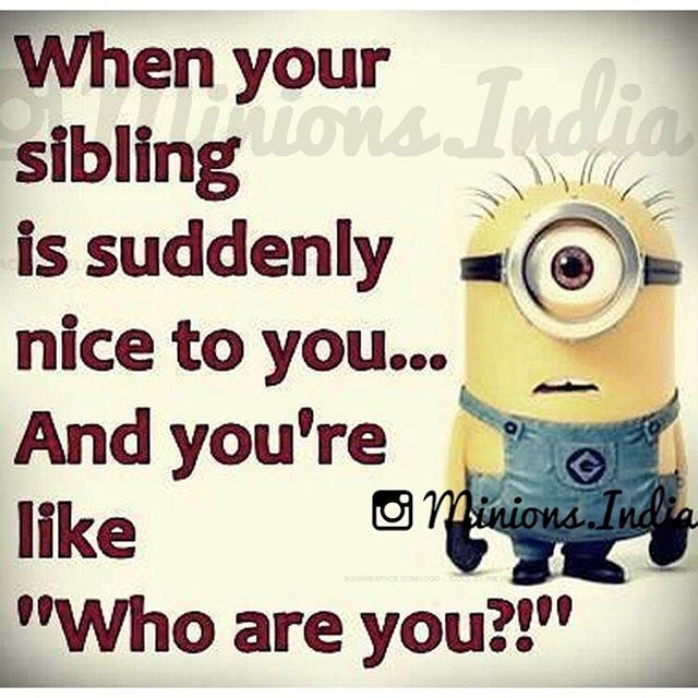 funny sibling quotes