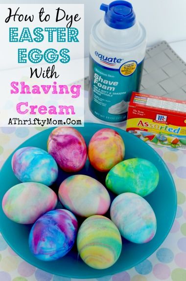 Dye Easter Eggs With Shaving Cream Pictures Photos And