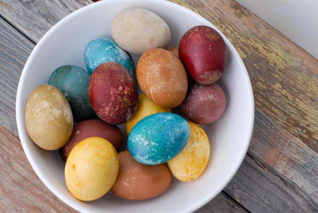 Naturally Colorful Dyed Easter Eggs Pictures, Photos, and Images for ...