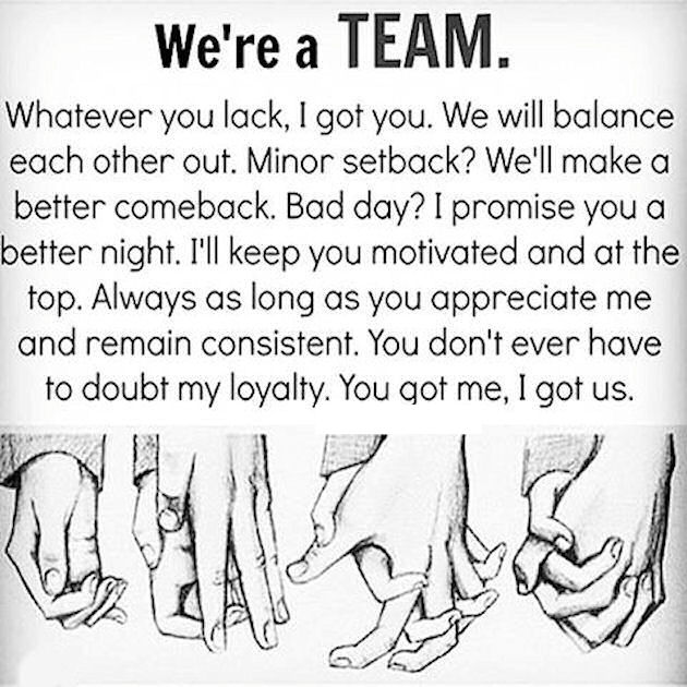 Team Love Quotes: We Are A Team Pictures, Photos, And Images For Facebook