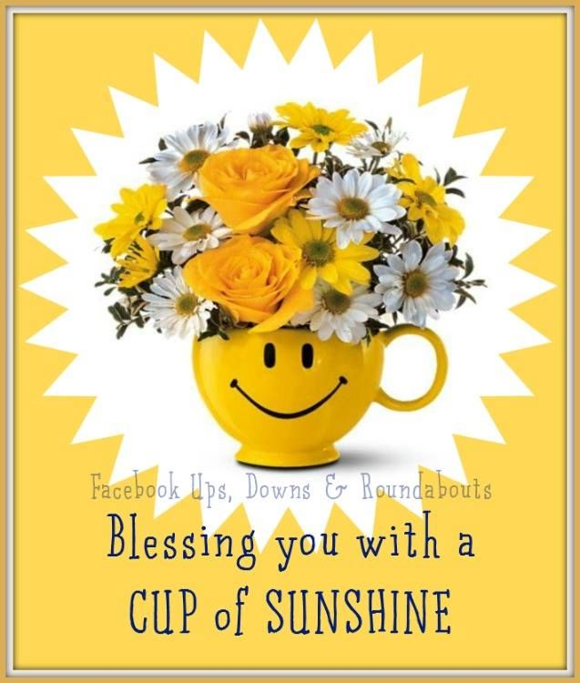 Blessing You With A Cup Of Sunshine Pictures Photos And Images For Facebook Tumblr Pinterest And Twitter