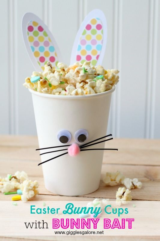 Easter Bunny Cups Pictures Photos And Images For