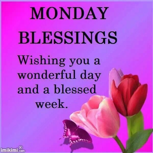 Blessings For A New Week Pictures, Photos, and Images for ...  Weekly Blessings
