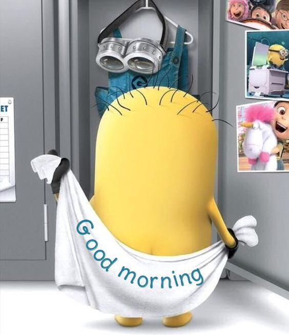 Funny good morning minion image pictures photos and images for funny good morning minion image m4hsunfo Images