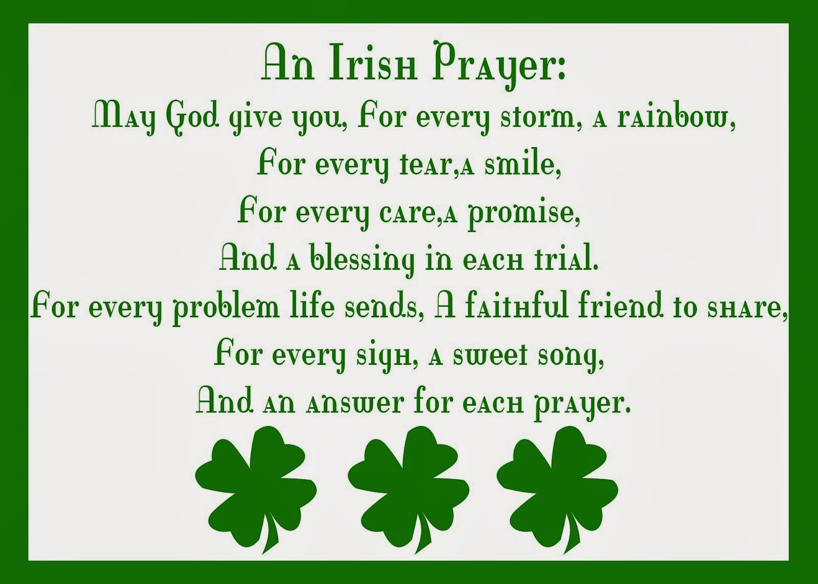 An Irish Prayer Pictures, Photos, and Images for Facebook, Tumblr ...