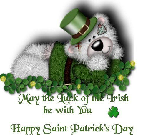 May The Luck Of The Irish Be With You. Happy St. Patrick's