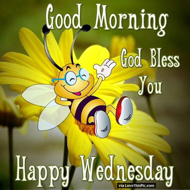 Good Morning God Bless Happy Wednesday Quote