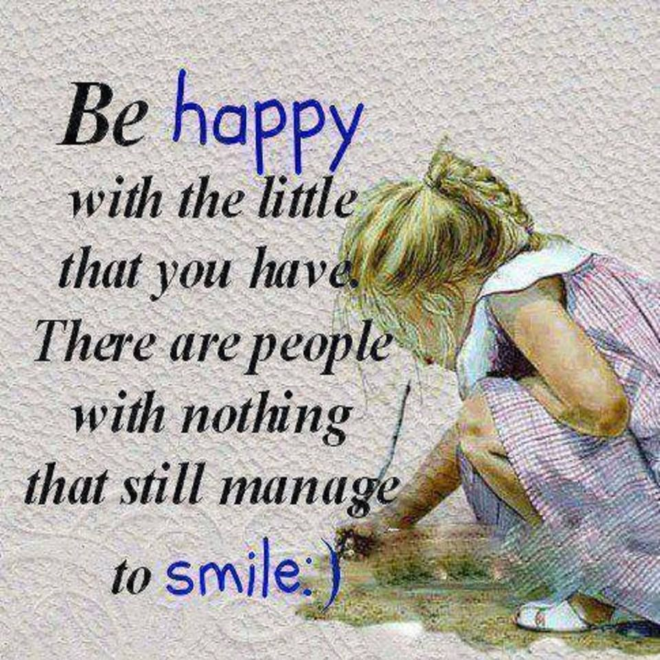 Be Happy With What You Have And Smile Pictures, Photos