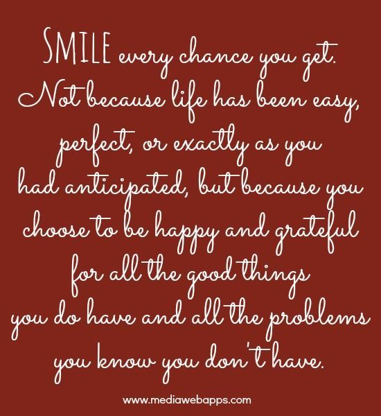 Smile Because Quotes Tumblr: Smile Every Chance You Get.... Pictures, Photos, And